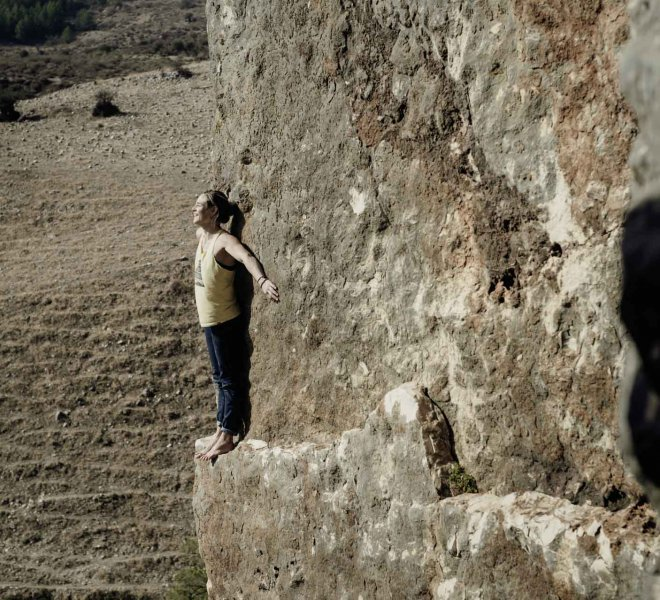Climbing in Israel